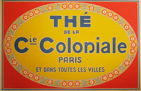 The de la Coloniale Authentic Vintage Poster by Anonymous