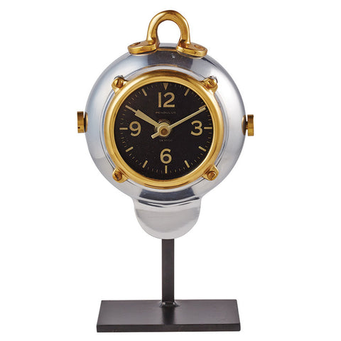 Pendulux Diver Table Clock