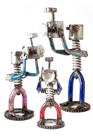 Swahili African Modern Recycled Metal Spring Photographers