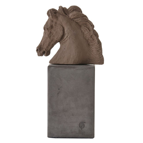 SOPHIA Horse Head Ceramic Table Statue