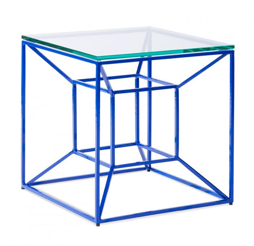 Gold Leaf Design Group Floating Side Table - Blue - Trovati