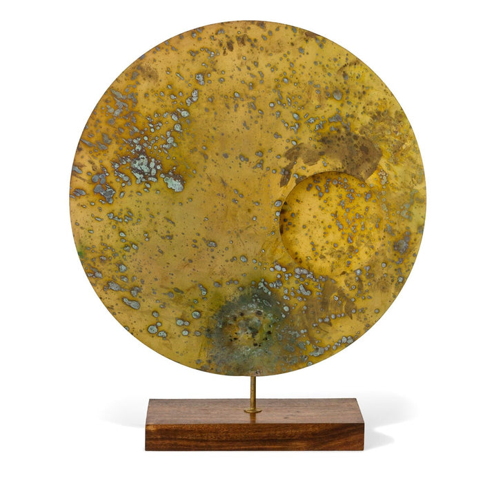 "Acido 24""H Disc Sculpture 