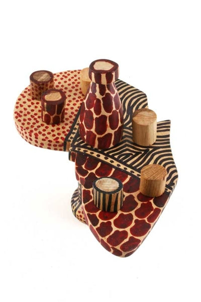 African Tea Party Animals | Swahili Modern | Trovati Studio