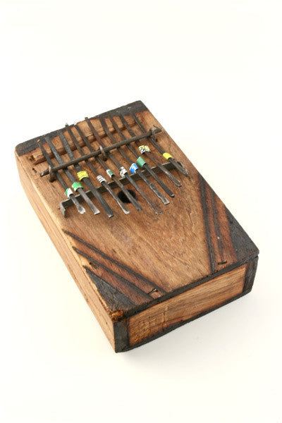 Swahili Fair Trade Kenyan Wooden Kalimba Thumb Pianos