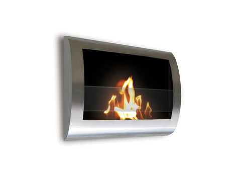 Anywhere Fireplace - Chelsea Bio-Ethanol Wall Fireplace