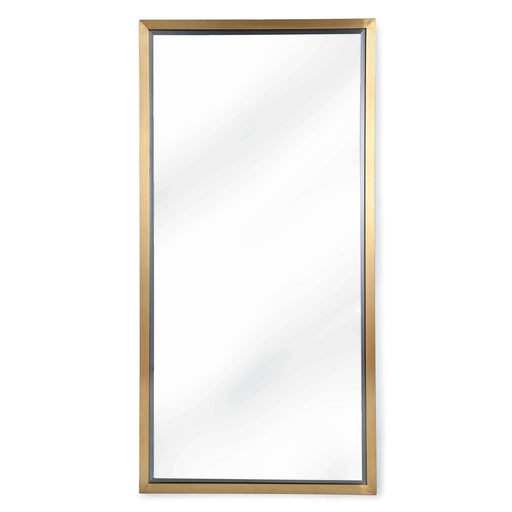 Rectangle Mirror (Natural Brass) | Regina Andrew | Trovati Studio