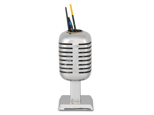 Pendulux Vintage Reproduction Microphone Pencil Holder