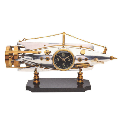 Pendulux Vintage Reproduction Nautilus Table Clock