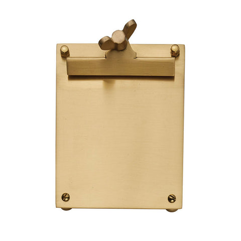 Pendulux Scribner Notepad Brass Small