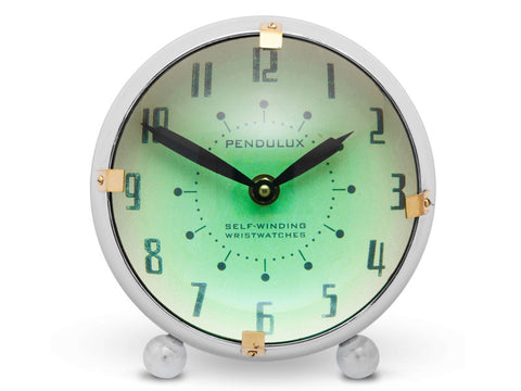 Pendulux Vintage Reproduction Orbit Table Clock