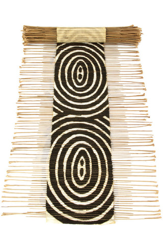 Swahili African Modern Ripple Effect Twig Table Runner