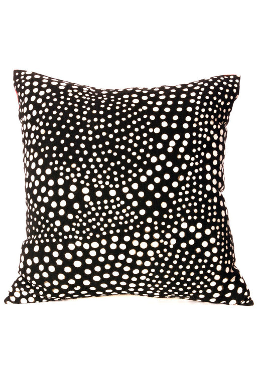 Malian Black and White Decorative Pillow Cover