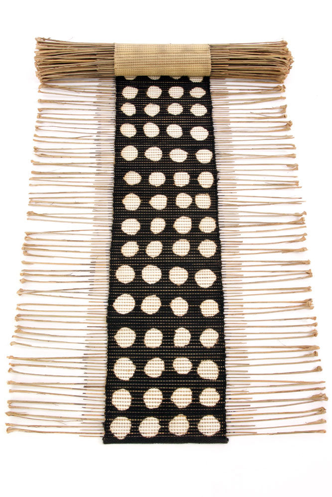 Polka Dot Twig Table Runner | Swahili African Modern | Trovati Studio