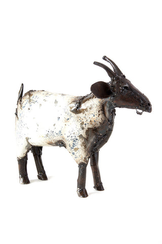 Swahili African Modern Recycled Metal African Farm Goat