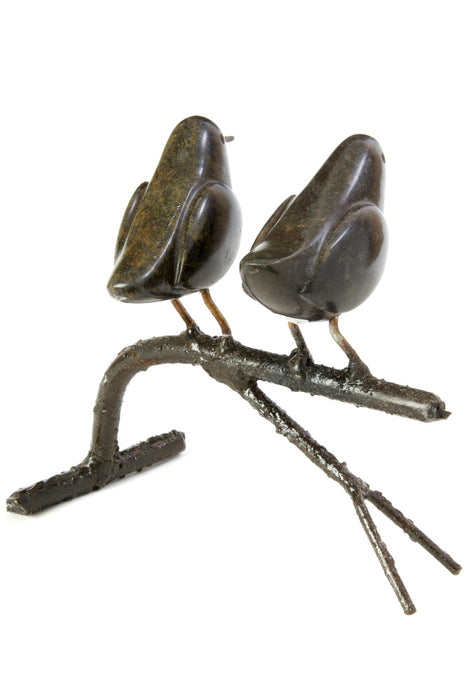 Swahili African Modern Songbird on Branch - Double - Trovati