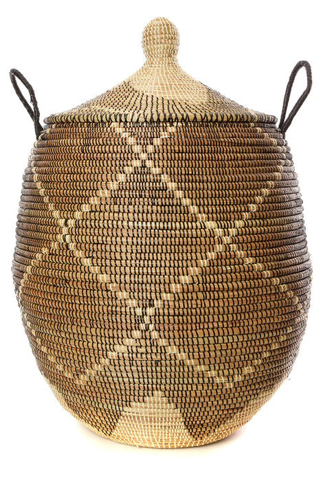 African Laundry Hamper Basket