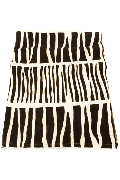 Zebresse Organic Cotton Mudcloth Throw | African | Trovati Studio