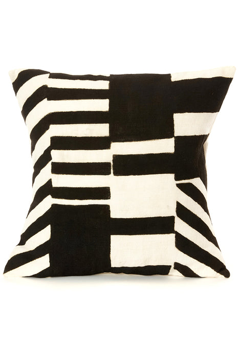 Zebresse Organic Cotton Mudcloth Pillow