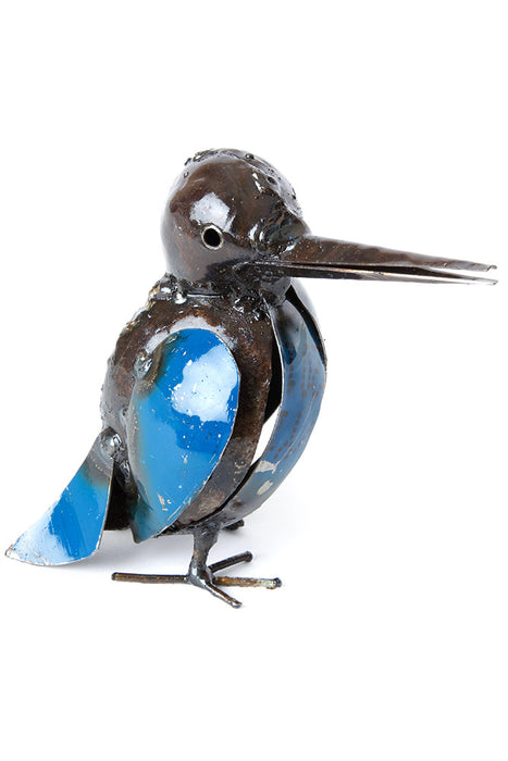 African Recycled Kingfisher Sculpture | Swahili Modern | Trovati Studio