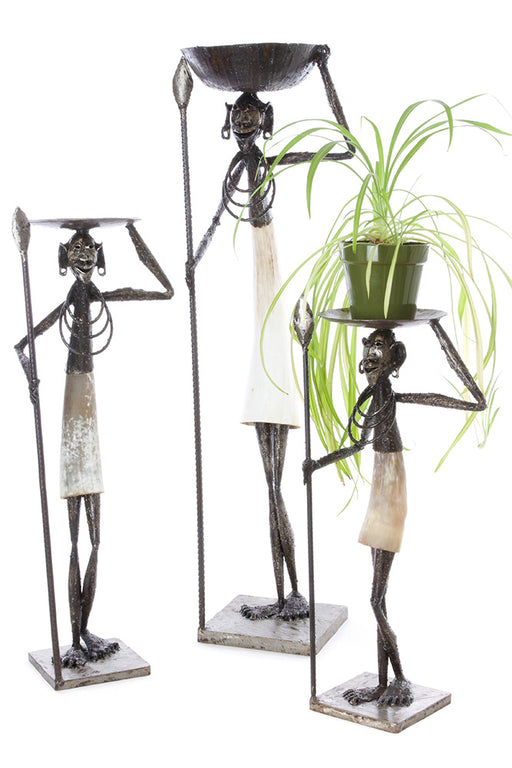 Nomad Plant Holder | African Sculpture | Trovati Studio