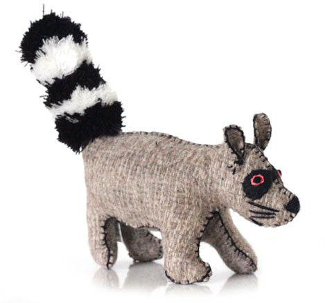 Eleven Design Studio Wool Raccoon Twoolies - Trovati