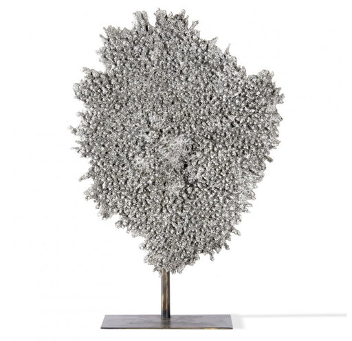 "Gold Leaf Design Coral 21"" H Sculpture - Trovati"