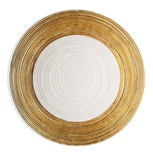 Zen Yang Wall Art | Gold Leaf Design | Trovati Studio