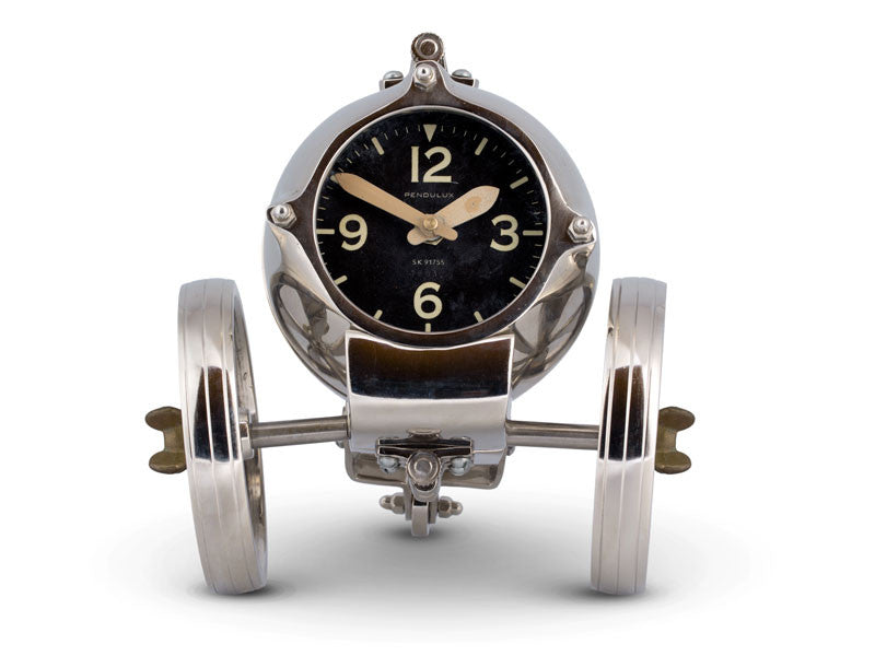 Pendulux Vintage Reproduction Rover Table Clock