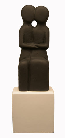Cycladic Couple Statue - SOPHIA