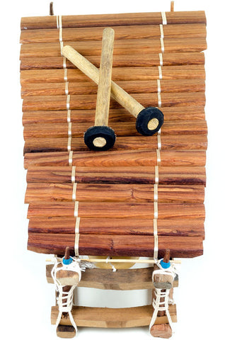 Swahili Fair Trade 16-18 Note Senegalese Balaphon Xylophone