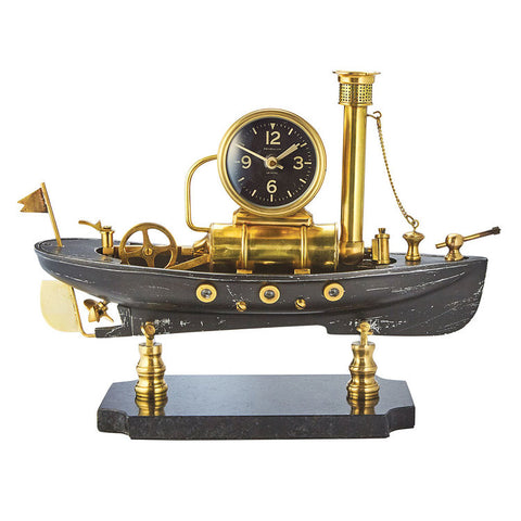 Pendulux Steamboat Table Clock