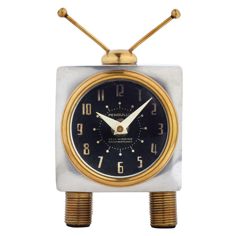 Pendulux Vintage Reproduction Teevee Table Clock