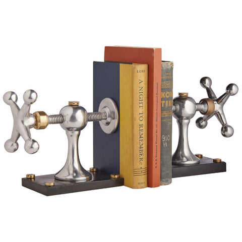Pendulux Windlass Bookends Set of 2