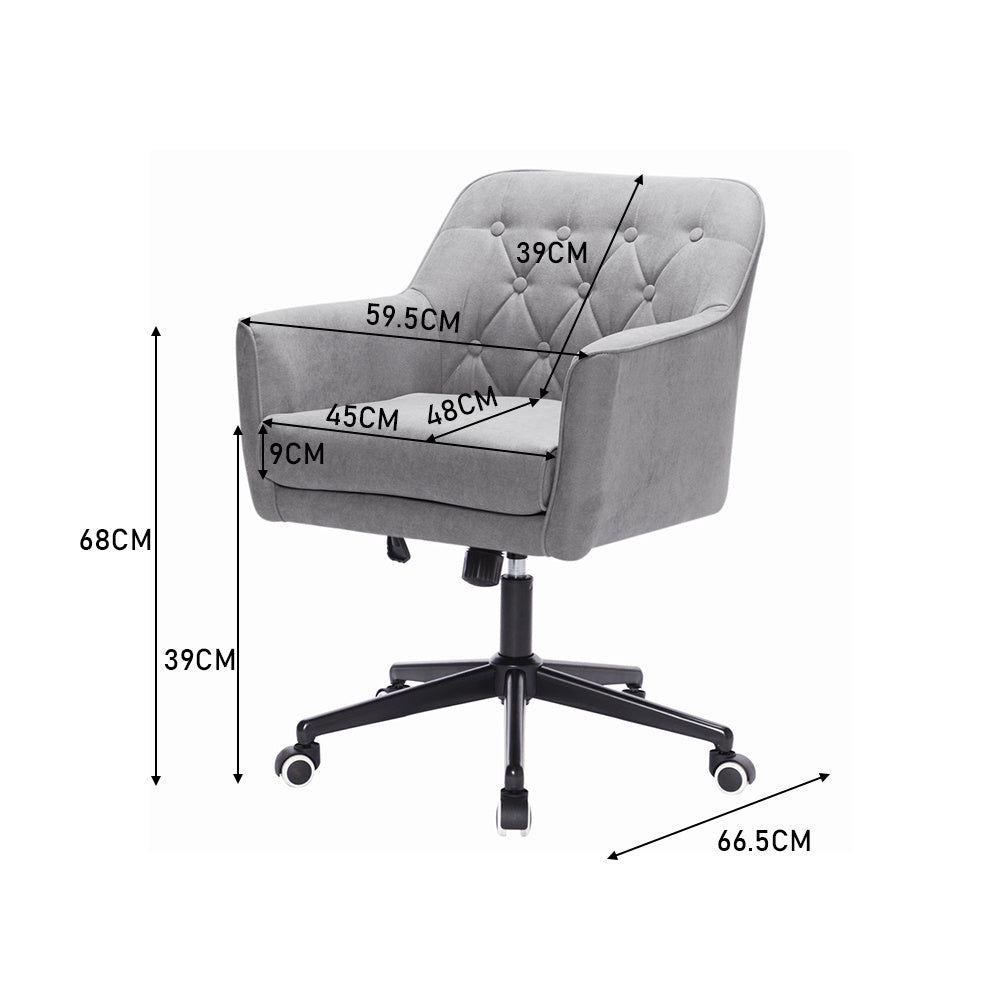 Adjustable 360¡ã Swivel Home Bedroom Office Chair