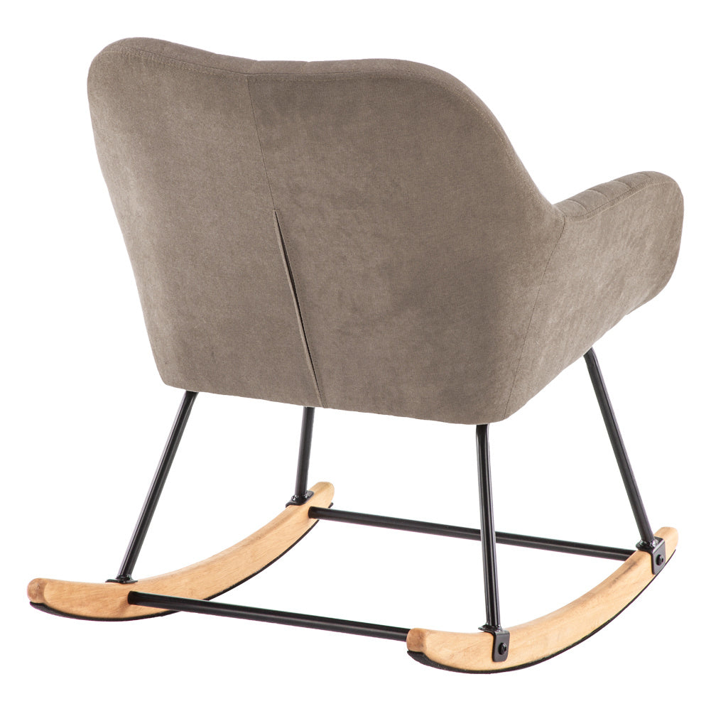 Recliner Rocking Chair Wing Back Armchair