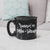 Runnin' on Coffee and Sarcasm Black Campfire Mug