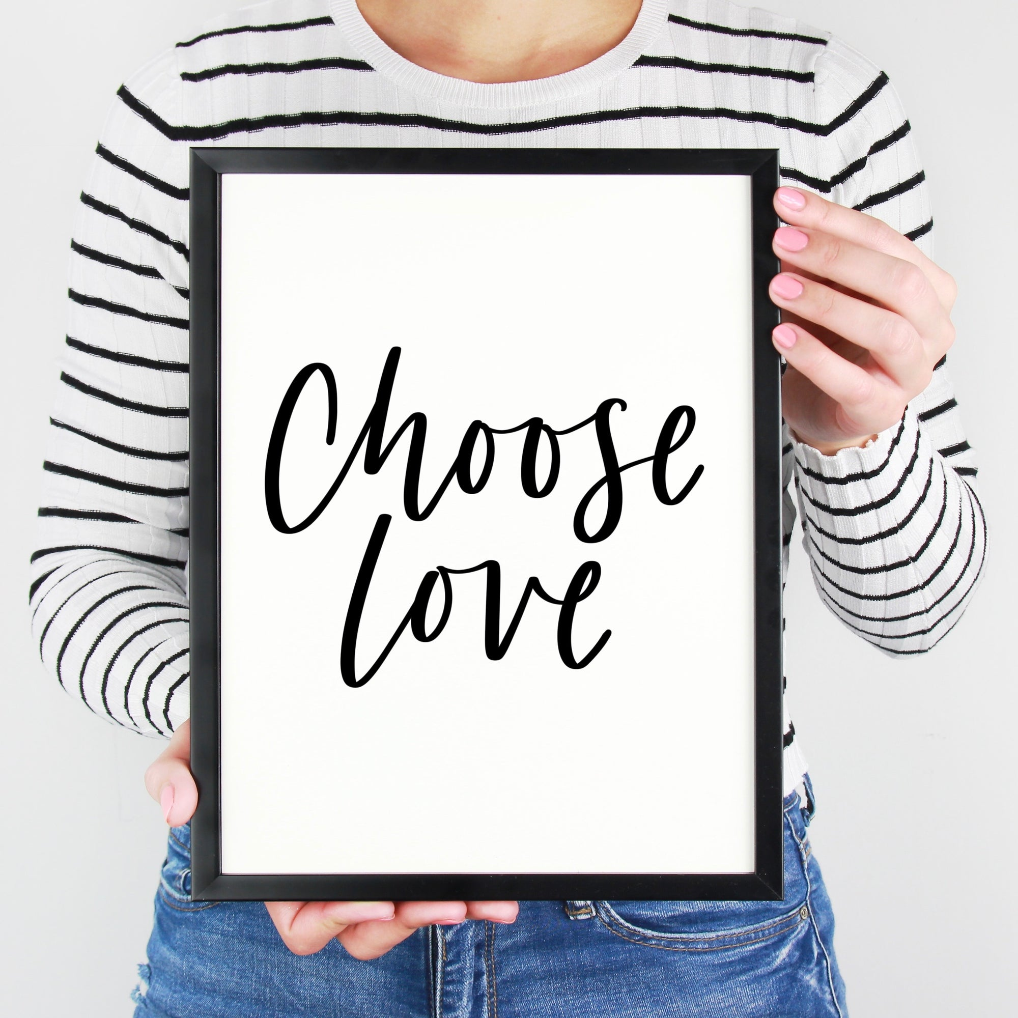Choose Love | Hand Lettered Print