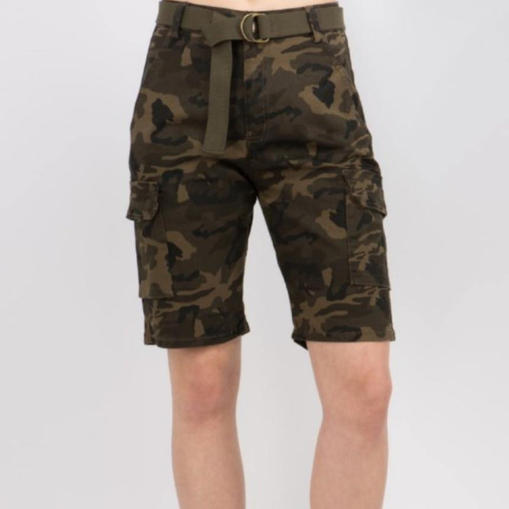 Cute in Camo Shorts (Reg + Curvy)