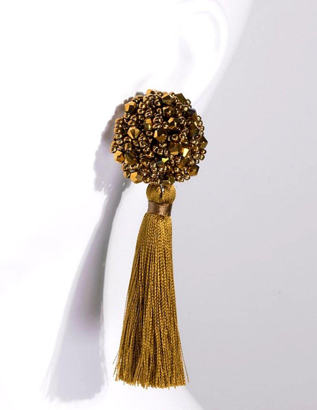 Glam Tassel Earrings - Standout Style Boutique