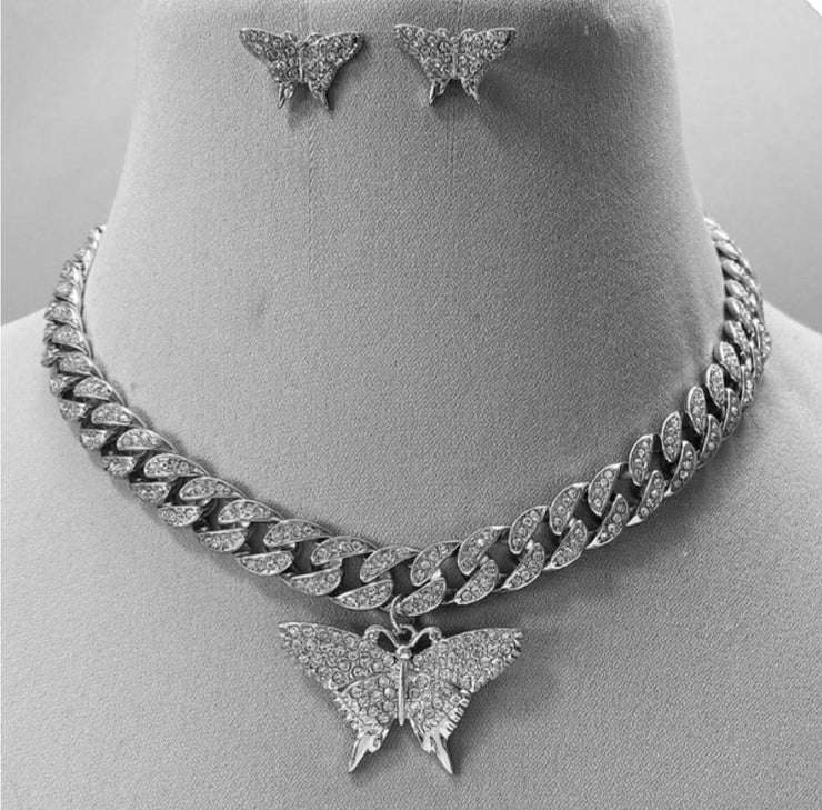 Monarch Pendant Choker - Standout Style Boutique