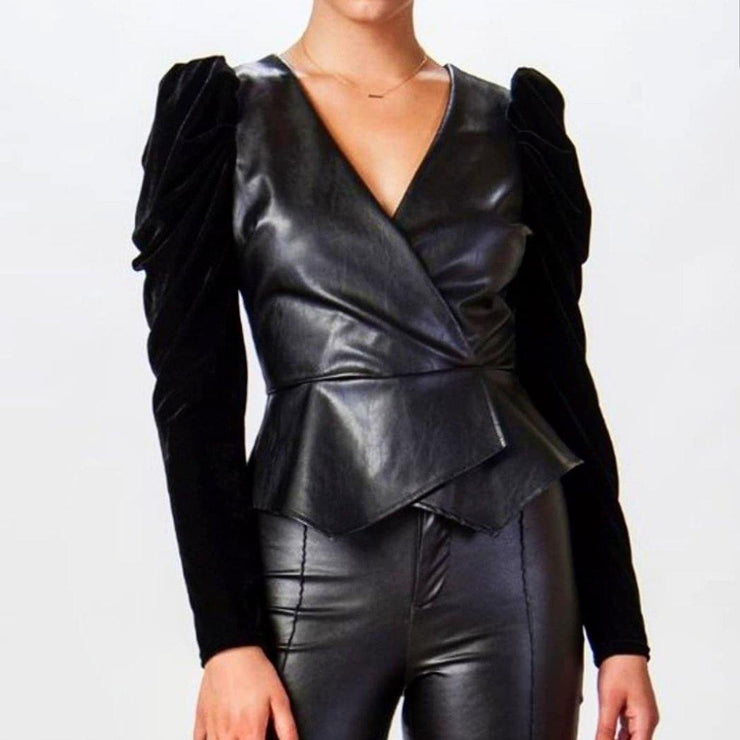 Billie Puff Sleeve Jacket - Standout Style Boutique
