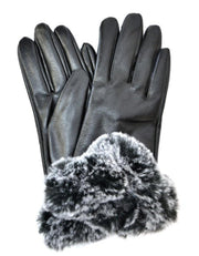 Glam Faux Fur Gloves - Standout Style Boutique