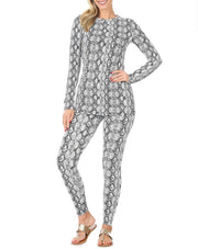 Snakeskin Lounge Set - Standout Style Boutique