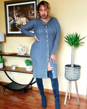 Mia Sweater Dress/Duster - Standout Style Boutique