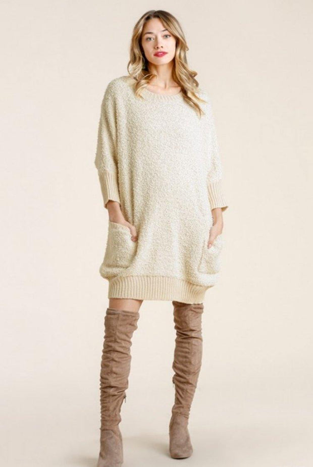 Chelsea Sweater Dress - Standout Style Boutique