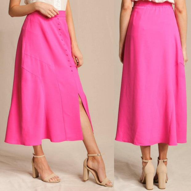 Boss Babe Midi Skirt - Standout Style Boutique