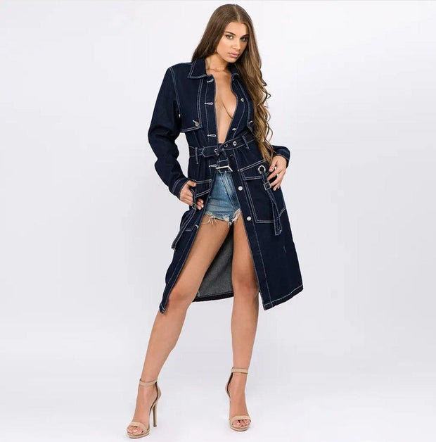 Diva Utility Trench Coat - Standout Style Boutique
