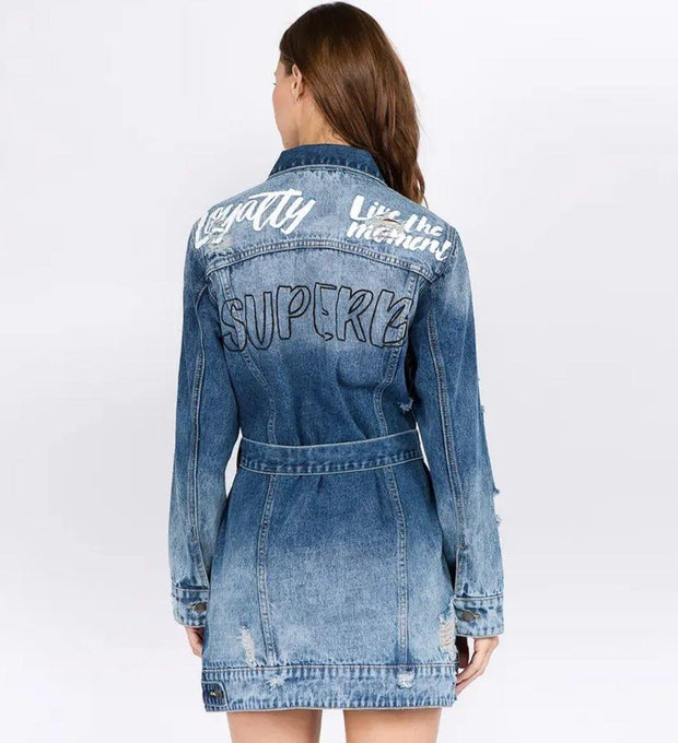Loyalty Jacket / Mini Dress - Standout Style Boutique