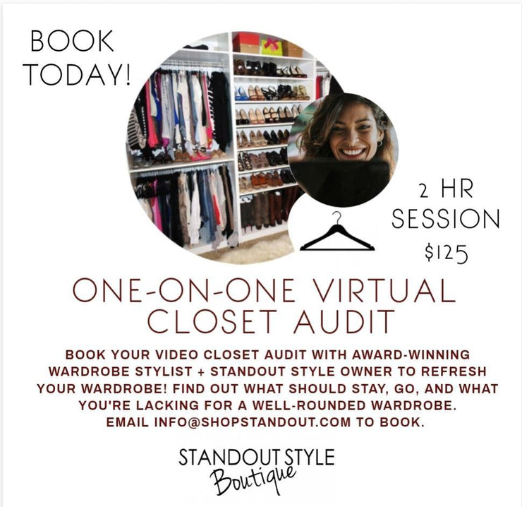 Virtual Closet Audit