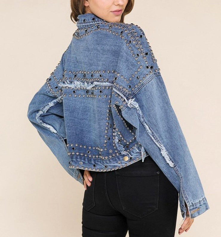 Destiny Denim Jacket - Standout Style Boutique